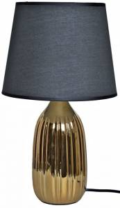 Stylowa lampa do salonu Gold