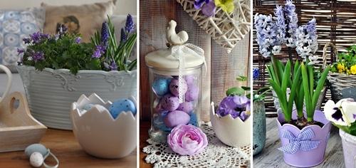 Wielkanocne Dekoracje Do Domu Nice Home Dodatki W Dobrym